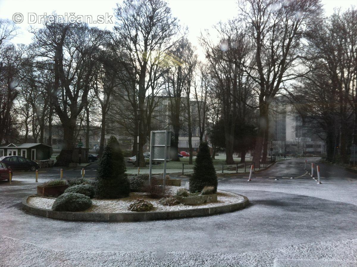 Dublin pod snehom