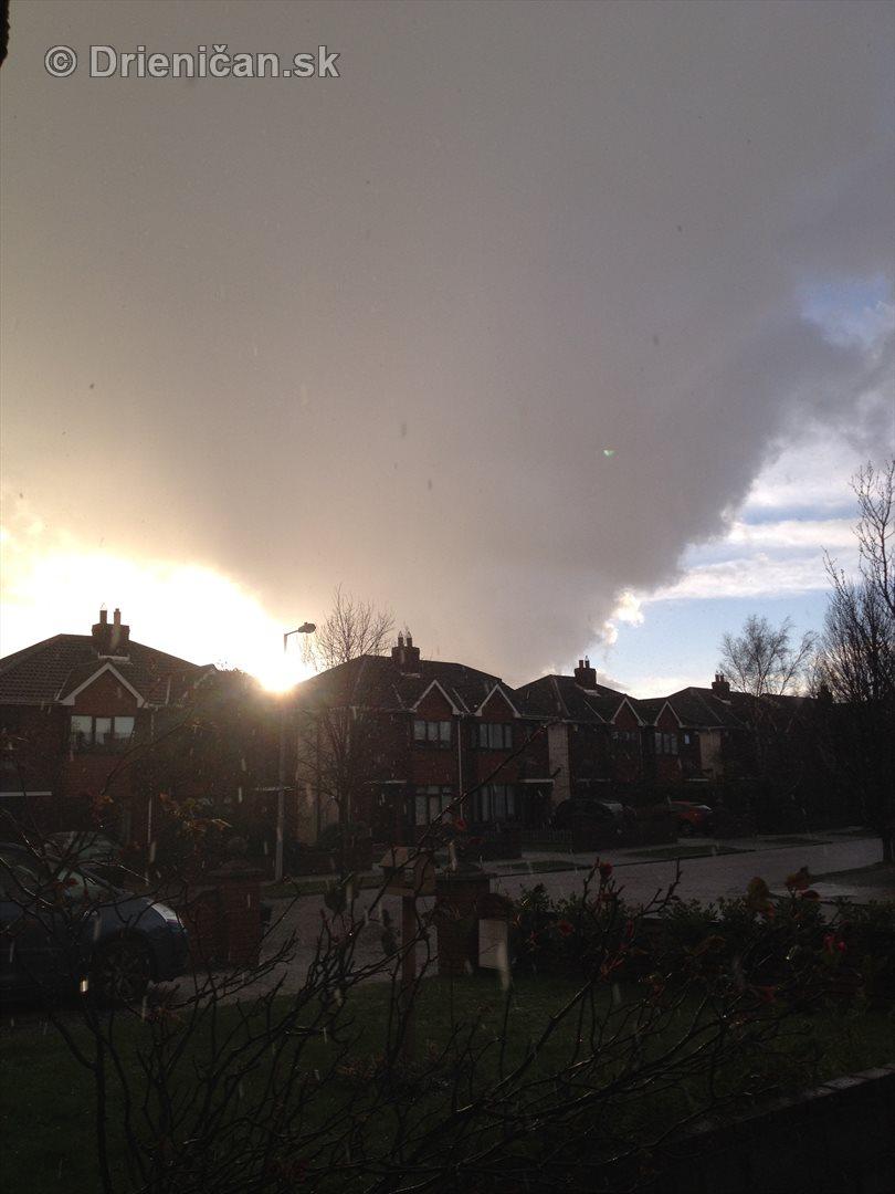 Oblak plný krúpov