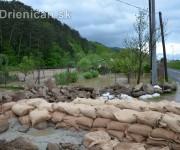 Rozvodnená rieka Torysa