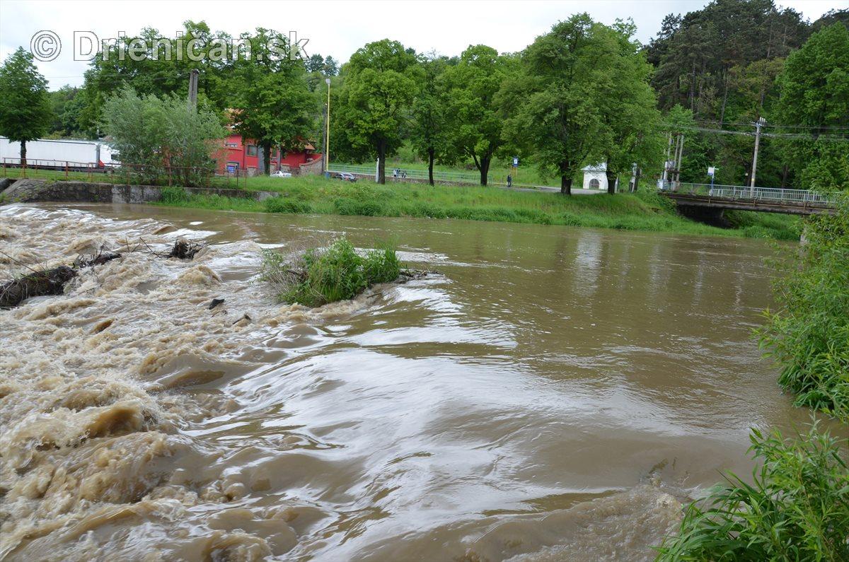Rieka Torysa po dažďoch