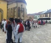 Stavanie mája v Sabinove