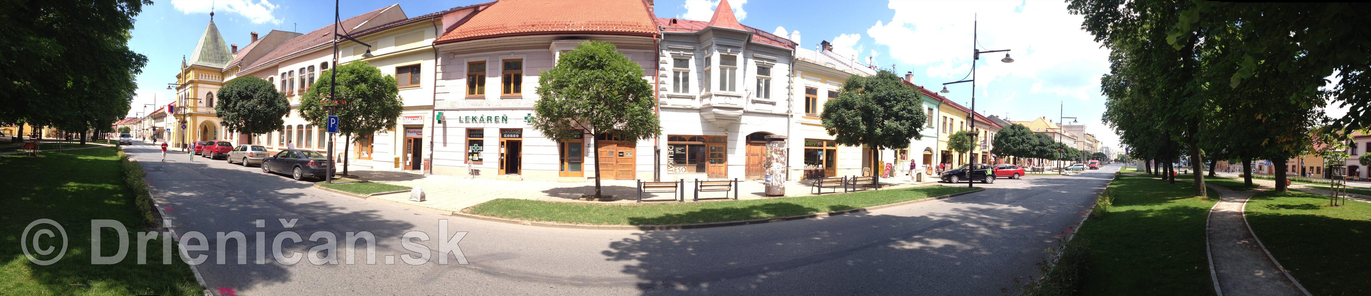 Panoráma mesta Sabinov