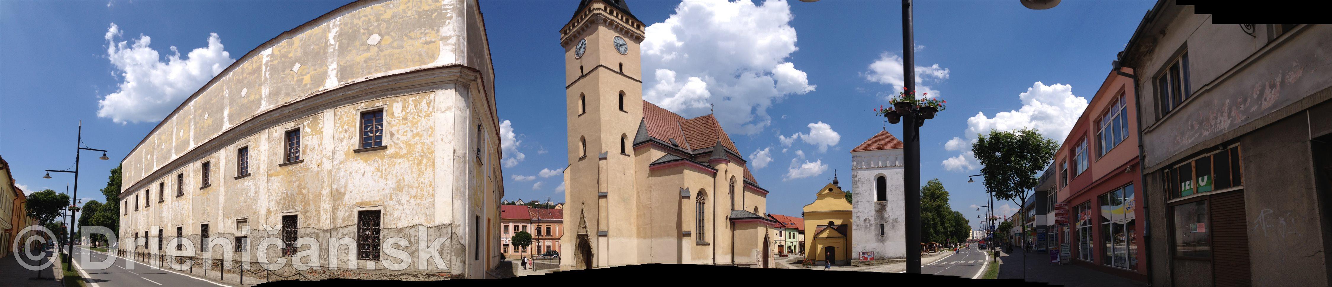Panorámy mesta Sabinov