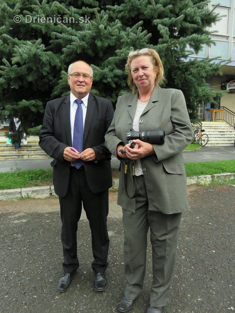 Ing. Peter Molčan a naša hlavná fotografka Mária Vrabľová