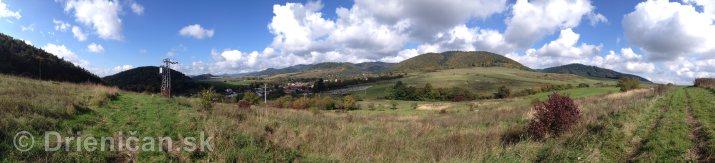 Na hornom konci na dolnom konci Drienica panorama_2