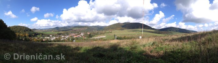 Na hornom konci na dolnom konci Drienica panorama_3