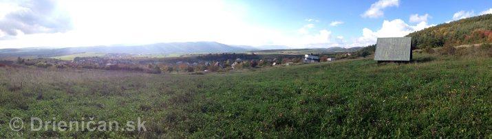 Na hornom konci na dolnom konci Drienica panorama_5