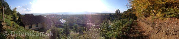 Na hornom konci na dolnom konci Drienica panorama_6