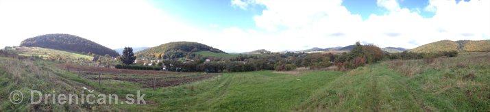 Na hornom konci na dolnom konci Drienica panorama_7