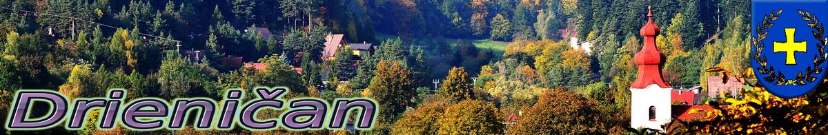 Logo č.33 , Október, jeseň farbí stromy... Napravo cerkov, naľavo časť chatovej oblasti Gacky.