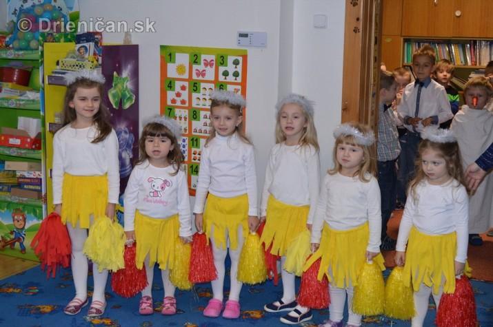 Vianočná besiedka v materskej škole Drienica