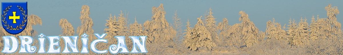 Logo č.40 , Zasnežené stromy, pod futbalovým ihriskom...