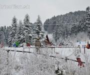 Drienica Lysá pod snehom