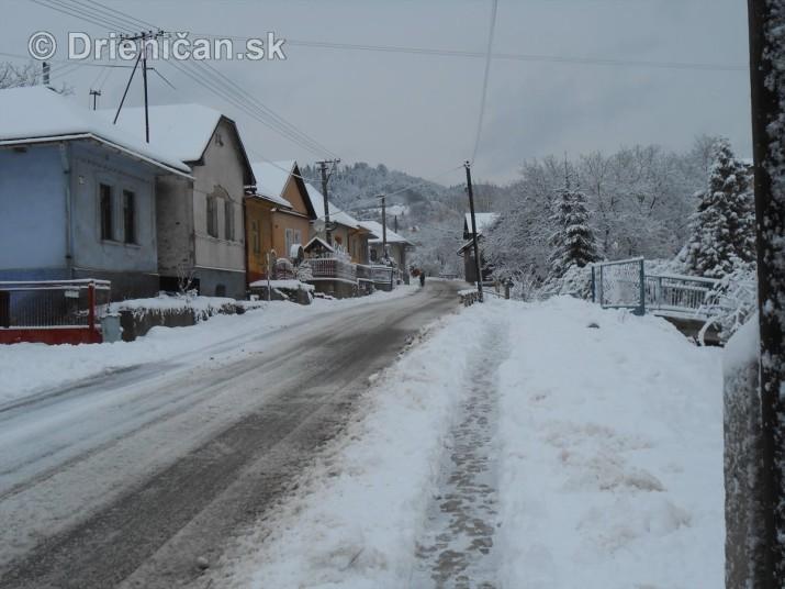 Drienica snehové podmienky