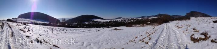 Februárový sneh