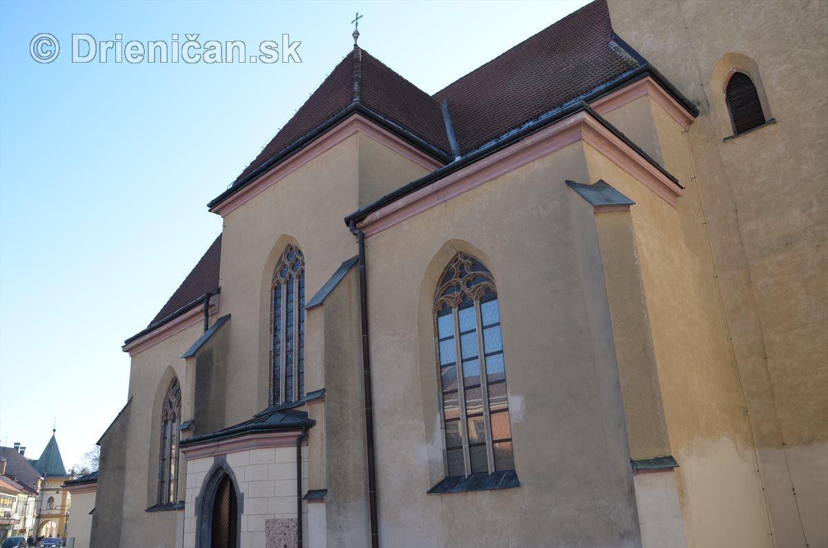 Chrám sv. Jána Krstiteľa v Sabinove