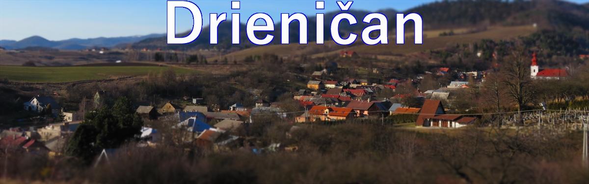 Drieničan -Bohatstvo slovenského národa