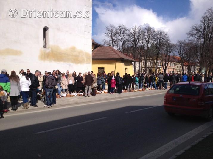 Pozehnanie velkonocnych pokrmov v Sabinove_03