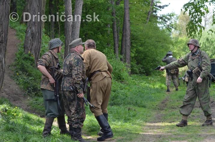 Pietny akt a posledný vzdor 1945 - Sabinov