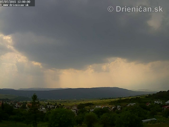 Drienica web cam storm_2
