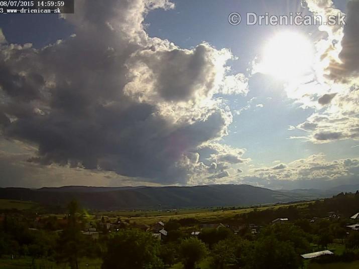 Drienica web cam storm_4