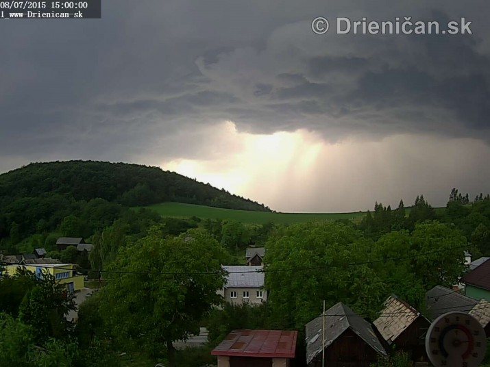 Drienica web cam storm_6