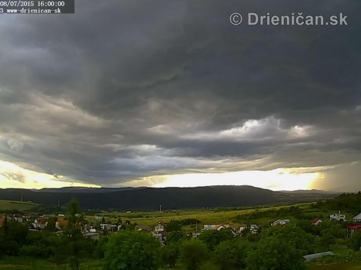 Drienica web cam storm_7