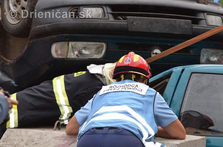 Majstrovstva Slovenskej republiky vo vyslobodzovani zranenych osob z havarovanych vozidiel foto_21