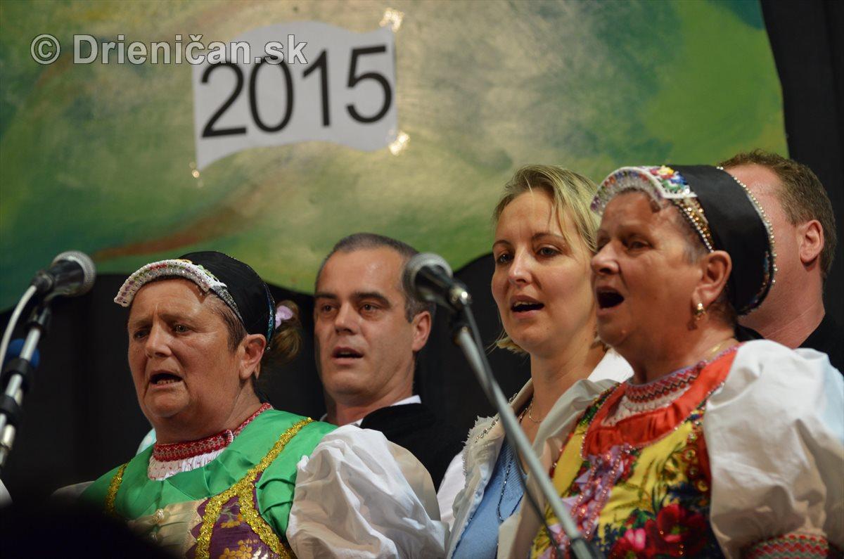 Šarišská Heligónka 2015 pokračovanie