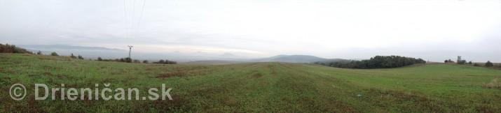 Od Raznian na Sarissky hrad panorama_2