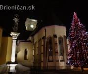 Mikulášska slávnosť a rozsvietenie jedličky v Sabinove