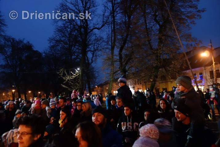 mikulas slavnost rozsvietenie jedlicky sabinov_15