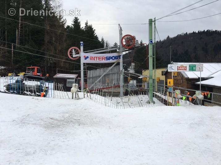 Na Drienici sa ešte stále lyžuje
