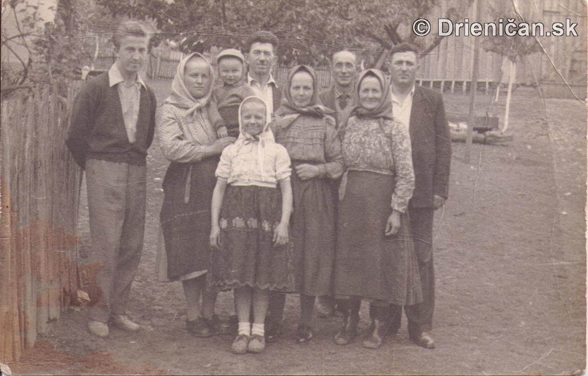 Rodinná fotografia Drienica