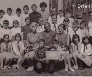 Školská fotografia, rok 1968