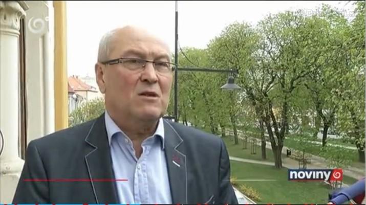 Primátor mesta Sabinov Ing. Peter Molčan