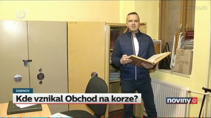 a Vladimír Jurek, reportér TV JOJ