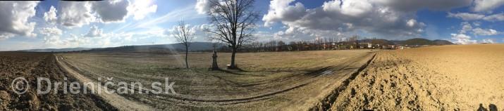 polna cesticka drienica sabinov panorama_1