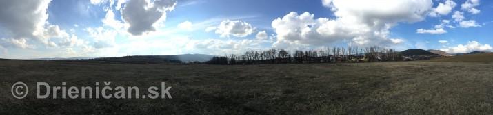 polna cesticka drienica sabinov panorama_2