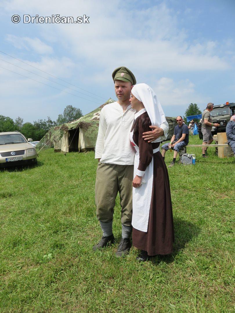1915-Hostovice-Rekontrukcia bojov Karpaty 1914_10