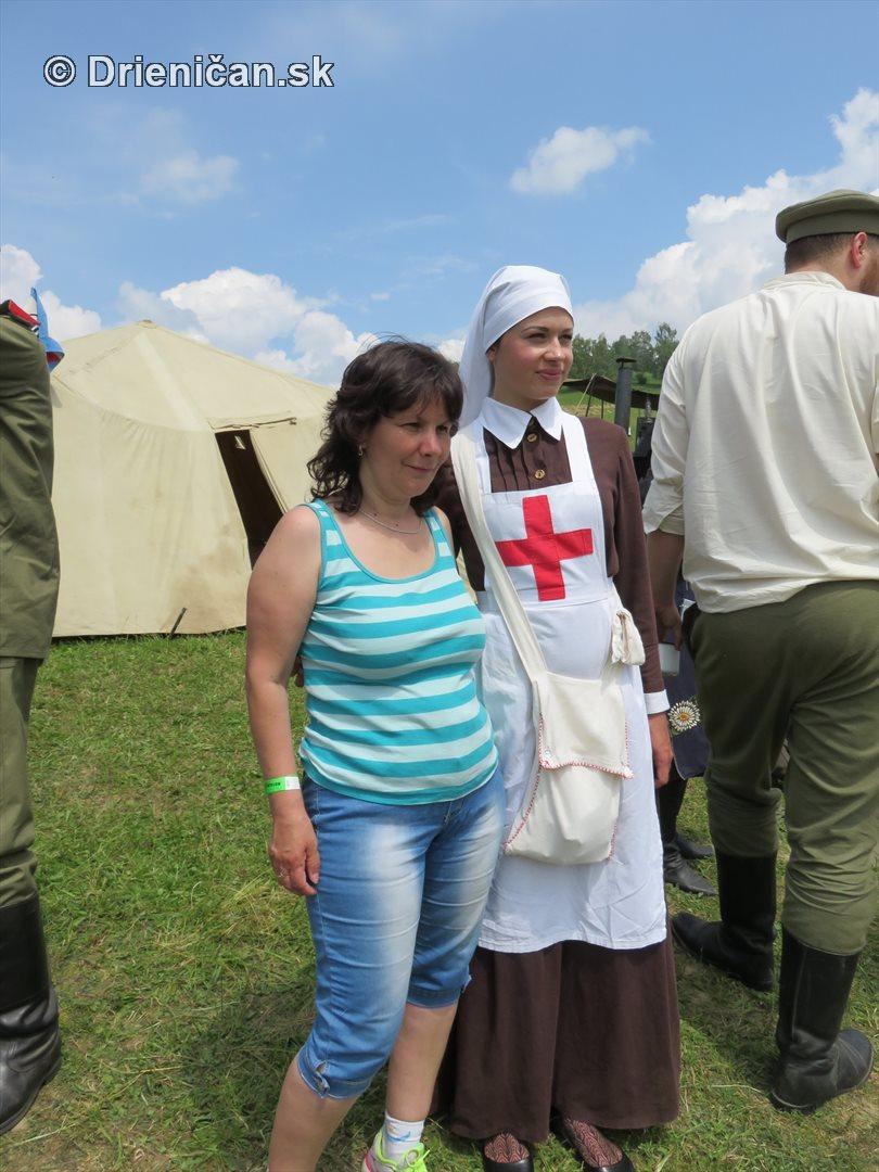 1915-Hostovice-Rekontrukcia bojov Karpaty 1914_33