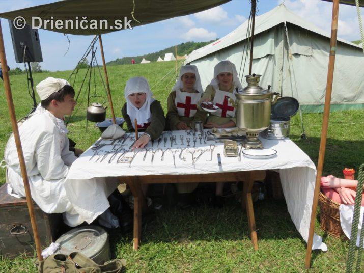 1915-Hostovice-Rekontrukcia bojov Karpaty 1914_49