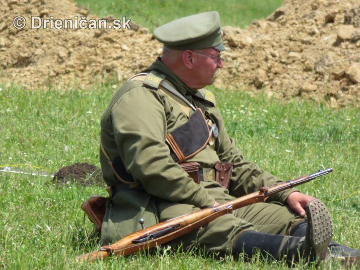 1915-Hostovice-Rekontrukcia bojov Karpaty 1914_57