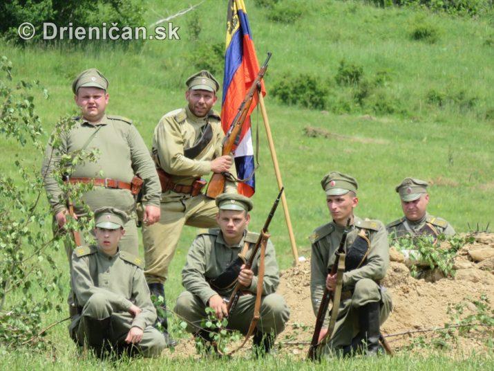 1915-Hostovice-Rekontrukcia bojov Karpaty 1914_59