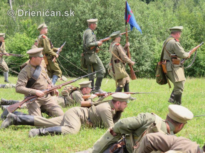1915-Hostovice-Rekontrukcia bojov Karpaty 1914_61