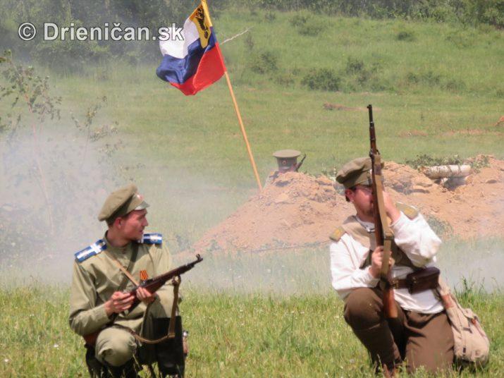 1915-Hostovice-Rekontrukcia bojov Karpaty 1914_62