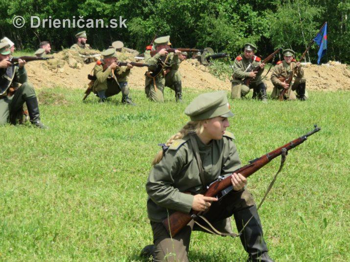 1915-Hostovice-Rekontrukcia bojov Karpaty 1914_63