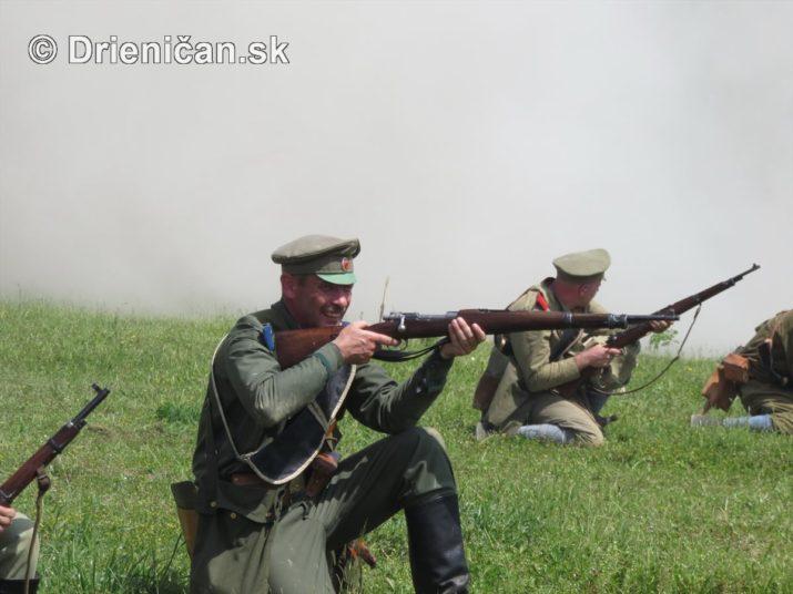 1915-Hostovice-Rekontrukcia bojov Karpaty 1914_64