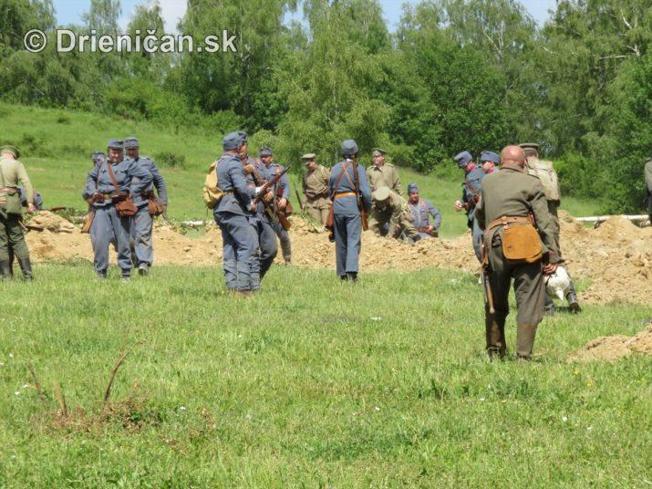1915-Hostovice-Rekontrukcia bojov Karpaty 1914_65
