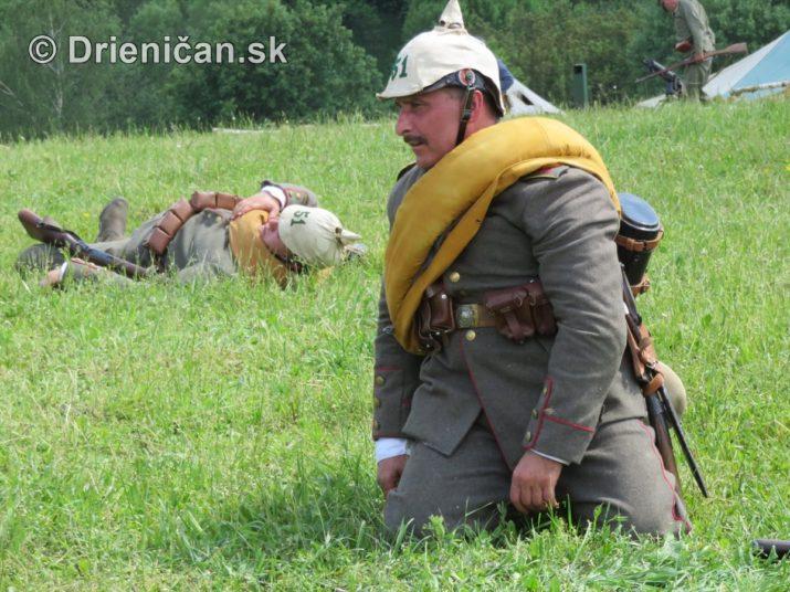 1915-Hostovice-Rekontrukcia bojov Karpaty 1914_66